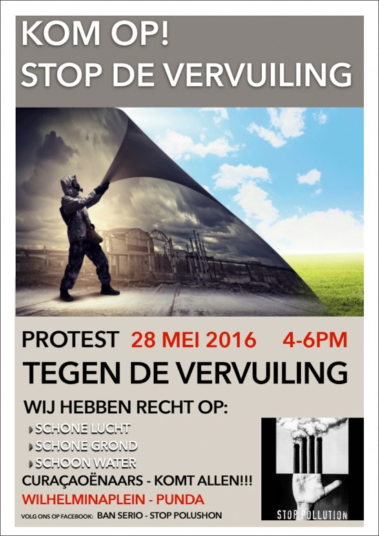 Flyer protest 28.05.2016 NL
